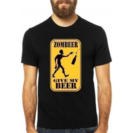 Camiseta Zombeer - Preta GG