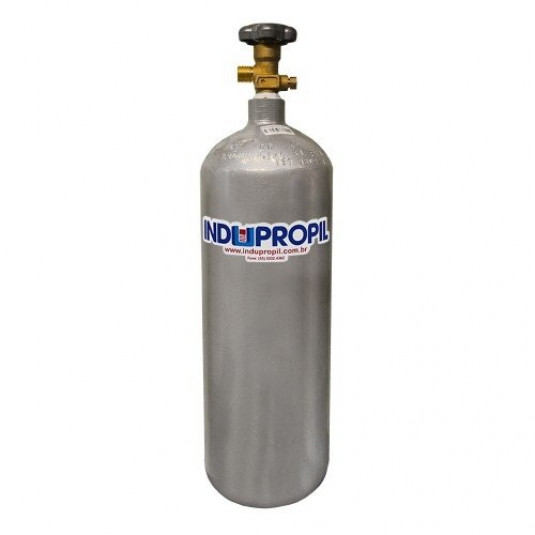 Cilindro Co2 Aço 3,6 L/2,5 Kg - Sem Carga