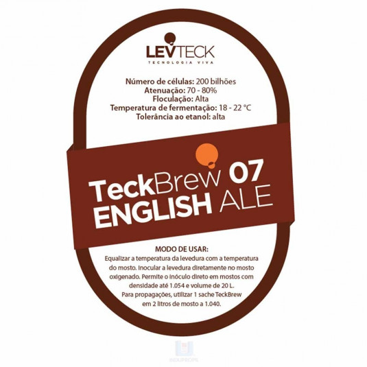 Pacote de Levedura Teckbrew 07 English Ale