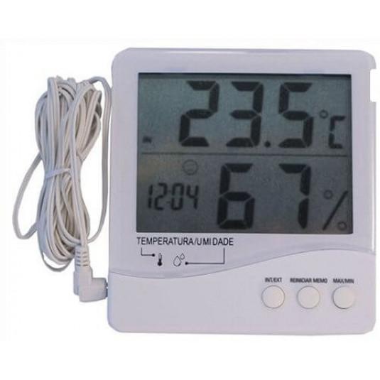 Termômetro Higrômetro Digital Temperatura Interna