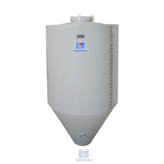 Fermentador Cônico PP 200 L - Isolamento Térmico e Parede Dupla