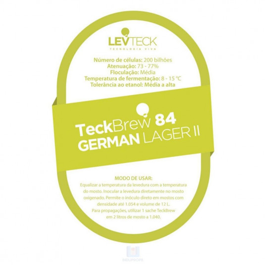 Imagem de Levedura Teckbrew 84 German Lager