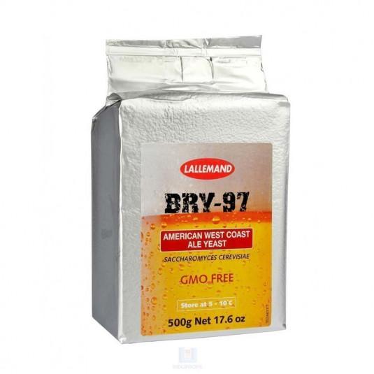 Pacote de Fermento Lallemand Bry-97 - 500gr