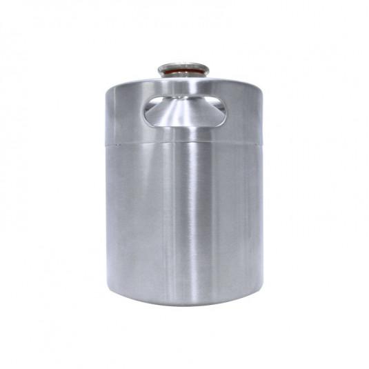 Barril Inox Keg 2 Litros