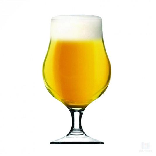Copo de Cerveja produzido com Kit Insumos Belgian Blonde Ale - 10 Litros