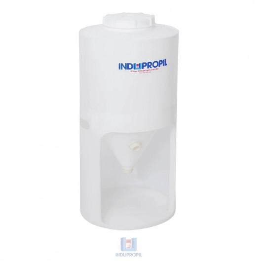 Fermentador Cônico PP Branco 350 Litros com Pé em Polipropileno