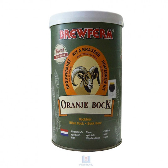 Beer Kit Brew - Orange Bock - pote de 12 Litros