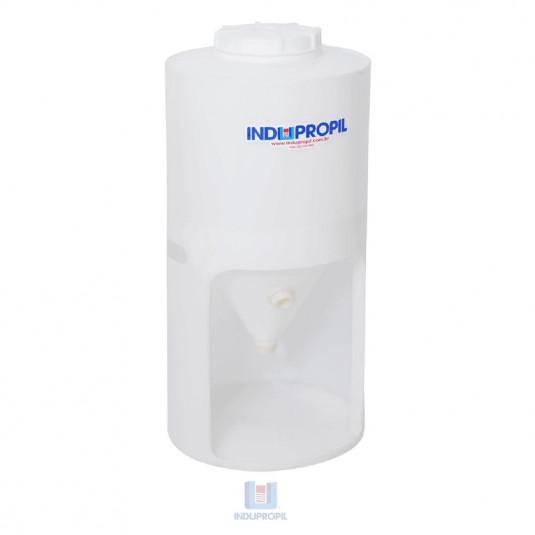 Fermentador Cônico PP cor Branco capacidade para 250 Litros com Pé em Polipropileno