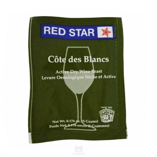 Pacote de Fermento Red Star Cote Des Blancs - 5g