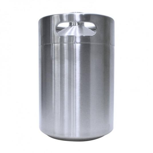 Barril Inox Keg 5  Litros - Sem tampa