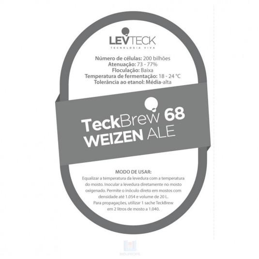 Levedura Teckbrew 68 Weizen Ale
