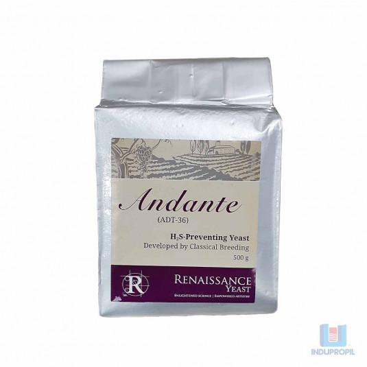 Levedura para Vinhos Renaissance Andante