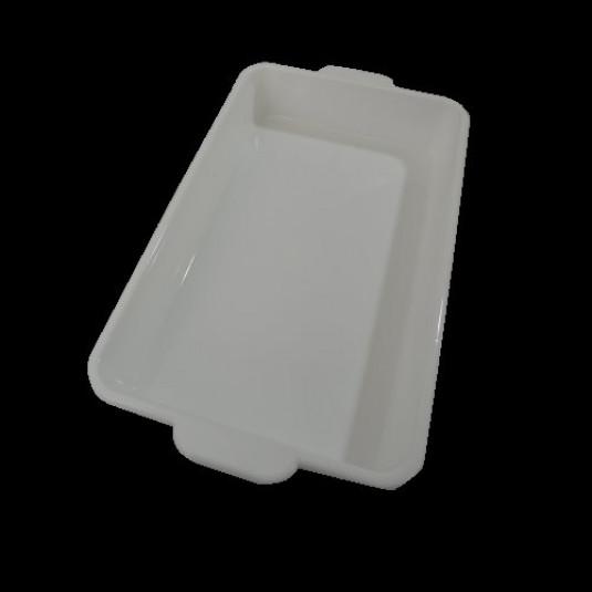 Bandeja Plastica em Polipropileno Média 49x29x08 cm 7 Litros com Aba