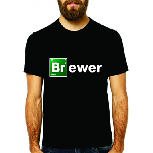 Camiseta BRewer - Preta XG