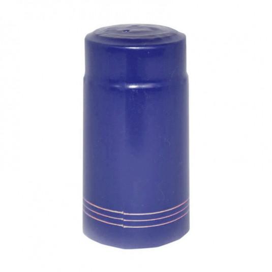 Cápsula Garrafa Azul Filete - 50 Unidades