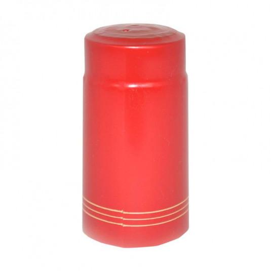 Cápsula Garrafa Vermelha Filete - 50 Unidades