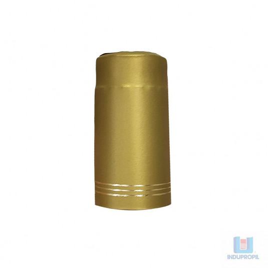 Cápsula Garrafa Dourada Filete - 50 Unidades