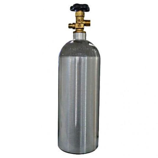 Cilindro para CO2 e N2 em Alumínio 5LB/2,3Kg - Sem Carga