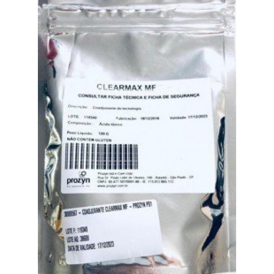 Coadjuvante Clearmax K- Prozyn - 100gr - INDUPROPIL