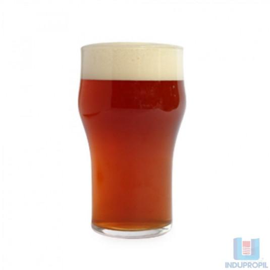 Copo com Cerveja Red Ale