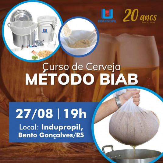 Curso Produção de Cerveja Artesanal pelo Método BIAB