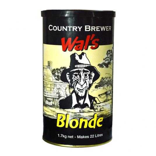Beer Kit Country Beer Wal's Blonde Ale 22 Litros