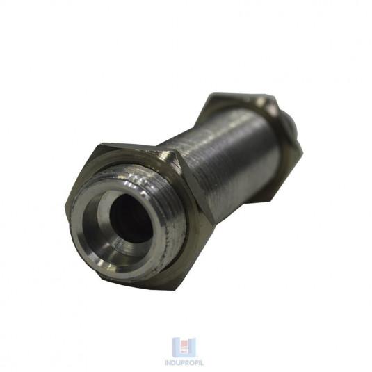 Extensor para Chopeira em material Alumínio medindo 90 mm de altura - deitado