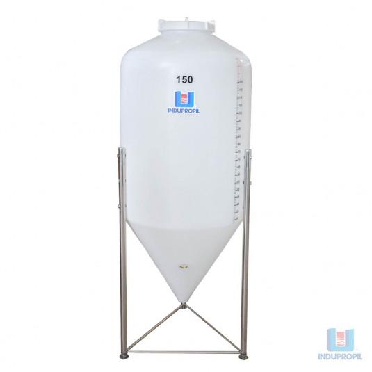 Fermentador Cônico Roto Plus 150 Litros Branco