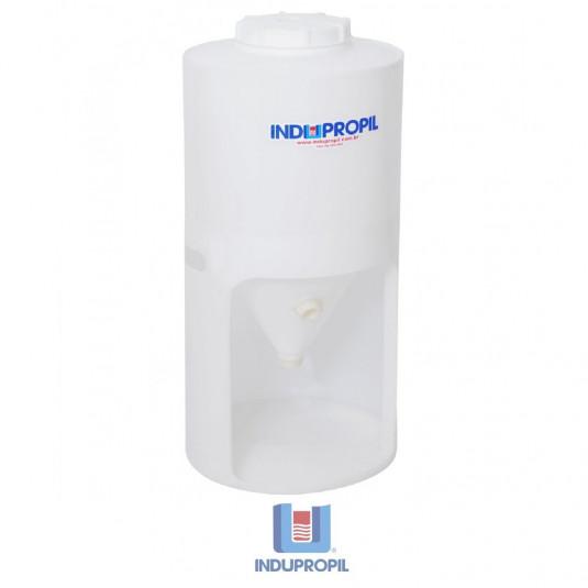 Fermentador Cônico PP Branco 120 Litros com Pé em Polipropileno