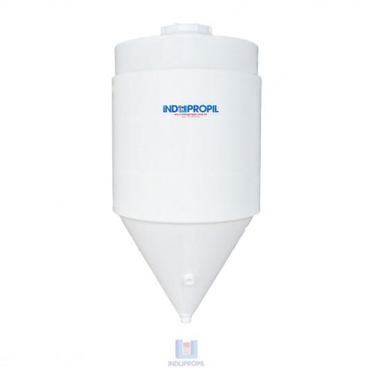 Fermentador Cônico PP Parede dupla - capacidade de 1000 litros na cor branca