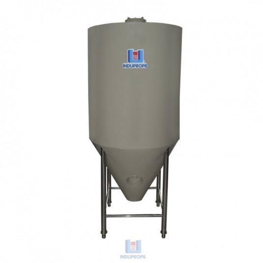 Fermentador Cônico PRO Bege 1.250 Litros com Isolamento Térmico