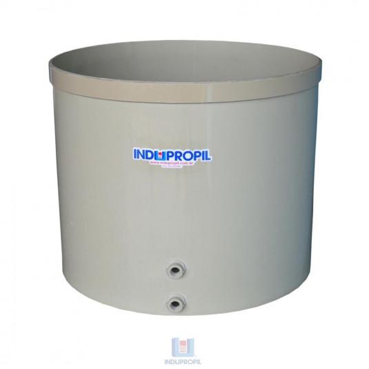 Fermentador de Uva PP Fundo Cônico Bege com capacidade de 5.000 Litros