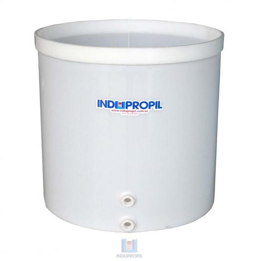 Fermentador de Uva PP Fundo Cônico na cor Branca com capacidade de 2.000 Litros