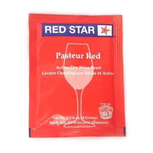 Fermento Red Star Pasteur Red - 5g