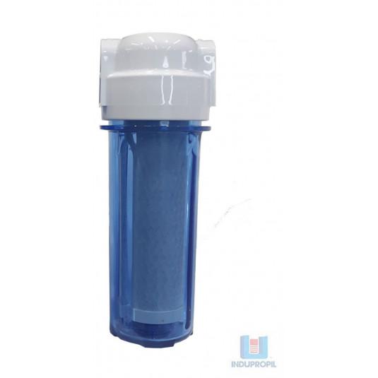 """Filtro para Água com Carvão Ativado Transparente BSP 1/2"""""""