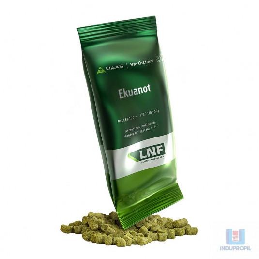 Lúpulo Ekuanot pacote de cinquenta gramas