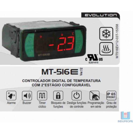 Controlador Full Gauge MT516E Quente ou Frio com Gabinete e Cabos