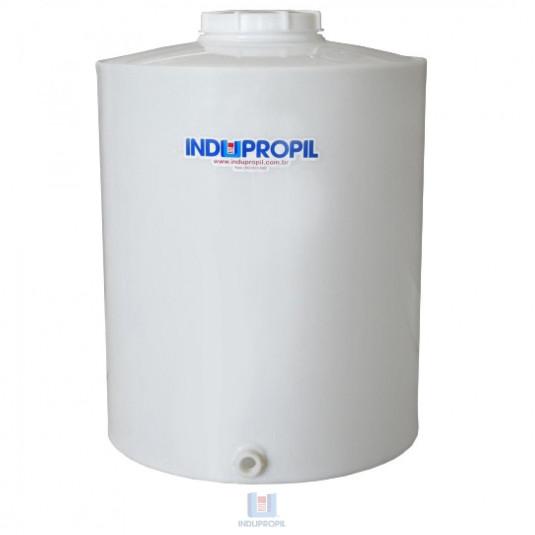 Pipa PP Branca capacidade de 500 Litros em Polipropileno