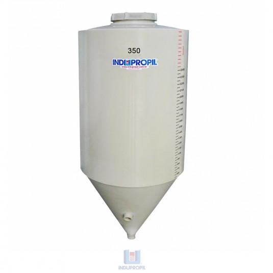 Fermentador Cônico PP Bege com capacidade de 350 Litros