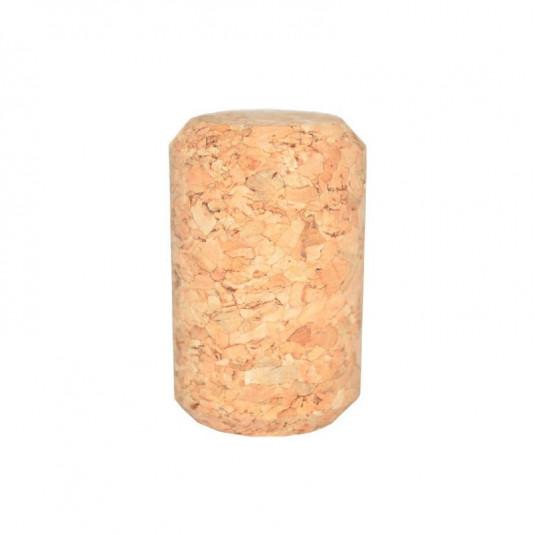 Rolha Reta Cortiça Champagne 48x30,5 - 50 Unidades