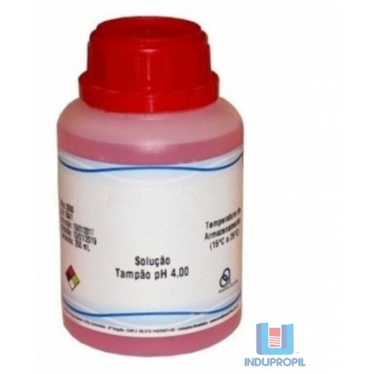 Solução Liquida Para Calibração Medidor PH - 4.00