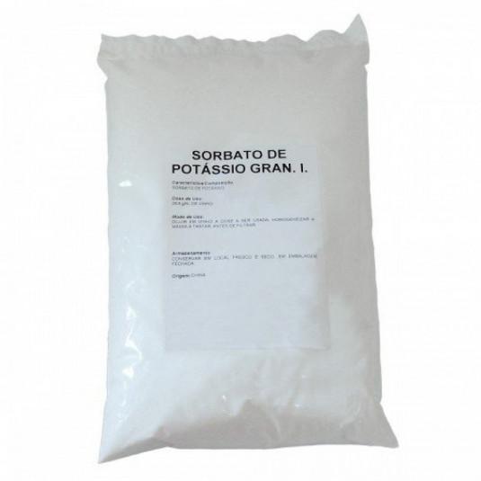 Sorbato De Potássio Granulado - Pct 100 gr