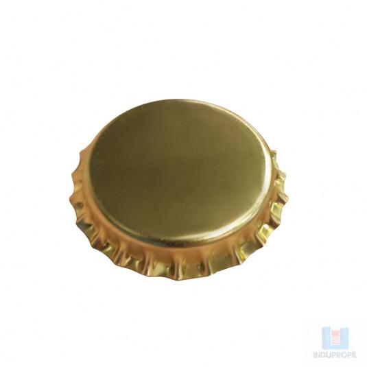 Tampa Champagne 29mm Dourada, tampa para garrafas de espumante
