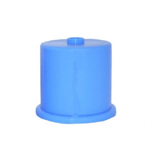 Tampa de Silicone Azul para Galão de Água