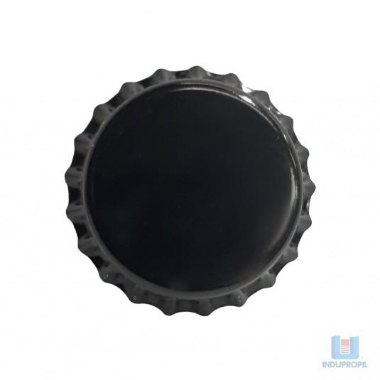 Tampinha pry off preta pra cerveja e garrafas de vidro em geral