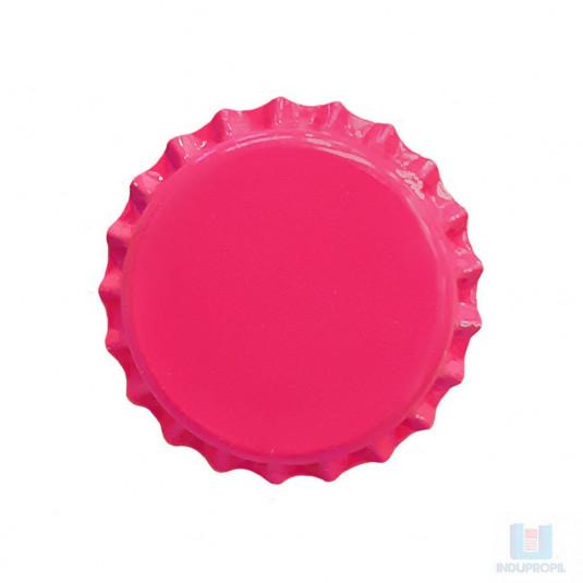 Tampa para garrafas de Cerveja Pry Off Rosa