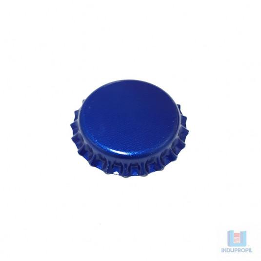 Tampa Cerveja Pry Off Azul - 100 Unidades