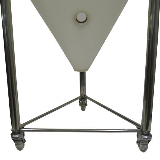 Kit com 3 Rodízios para Fermentadores 100 Lts Linha Plus