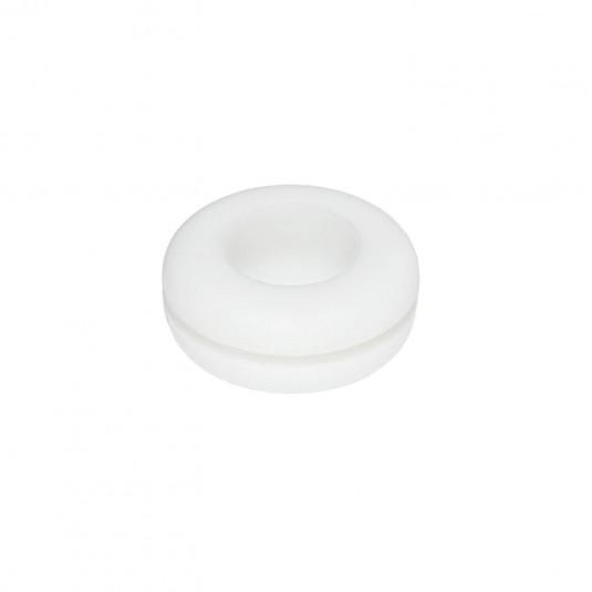 Vedante de Silicone Branco para Balde Fermentador