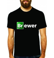 Camiseta BRewer - Preta M